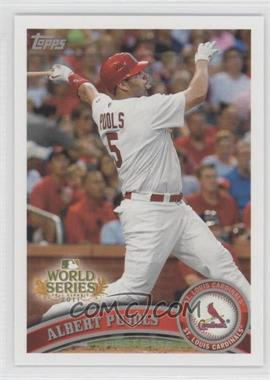 2011 Topps St. Louis Cardinals World Series Champions Hanger Pack [Base] #WS1 - Albert Pujols