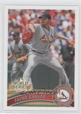 2011 Topps St. Louis Cardinals World Series Champions Hanger Pack [Base] #WS13 - Jaime Garcia