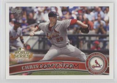 2011 Topps St. Louis Cardinals World Series Champions Hanger Pack [Base] #WS14 - Chris Carpenter