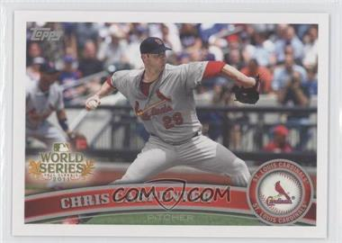 2011 Topps St. Louis Cardinals World Series Champions Hanger Pack [Base] #WS14 - Chris Carpenter