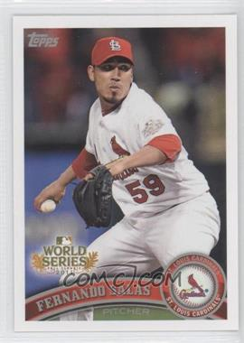 2011 Topps St. Louis Cardinals World Series Champions Hanger Pack [Base] #WS16 - Fernando Salas