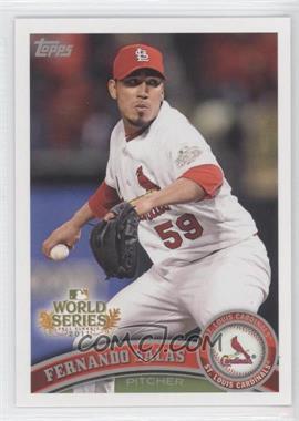 2011 Topps St. Louis Cardinals World Series Champions Hanger Pack [Base] #WS16 - Fernando Salas