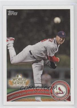2011 Topps St. Louis Cardinals World Series Champions Hanger Pack [Base] #WS22 - Chris Carpenter