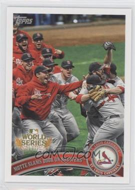 2011 Topps St. Louis Cardinals World Series Champions Hanger Pack [Base] #WS24 - St. Louis Cardinals Team