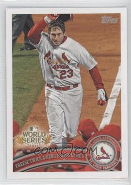 2011 Topps St. Louis Cardinals World Series Champions Hanger Pack [Base] #WS25 - David Freese