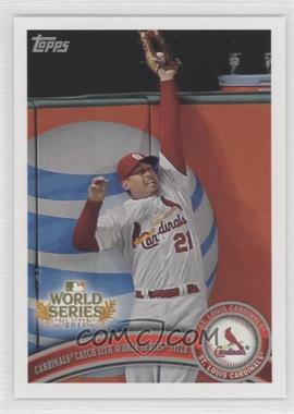2011 Topps St. Louis Cardinals World Series Champions Hanger Pack [Base] #WS26 - Cardinals Catch 11th World Series Title (Allen Craig)