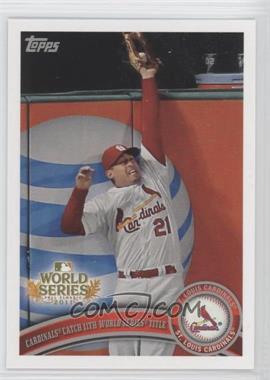 2011 Topps St. Louis Cardinals World Series Champions Hanger Pack [Base] #WS26 - Cardinals Catch 11th World Series Title (Allen Craig)