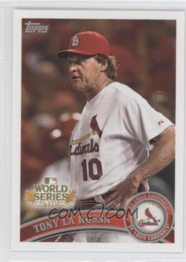 2011 Topps St. Louis Cardinals World Series Champions Hanger Pack [Base] #WS27 - Tony LaRussa