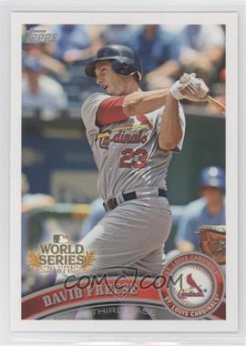 2011 Topps St. Louis Cardinals World Series Champions Hanger Pack [Base] #WS3 - David Freese