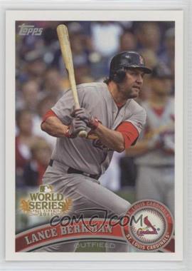 2011 Topps St. Louis Cardinals World Series Champions Hanger Pack [Base] #WS5 - Lance Berkman