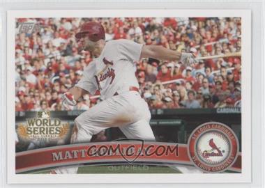 2011 Topps St. Louis Cardinals World Series Champions Hanger Pack [Base] #WS7 - Matt Holliday