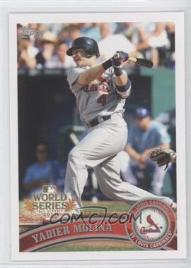 2011 Topps St. Louis Cardinals World Series Champions Hanger Pack [Base] #WS8 - Yadier Molina