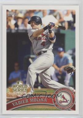2011 Topps St. Louis Cardinals World Series Champions Hanger Pack [Base] #WS8 - Yadier Molina