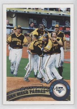 2011 Topps Target [Base] Throwback #126 - San Diego Padres Team