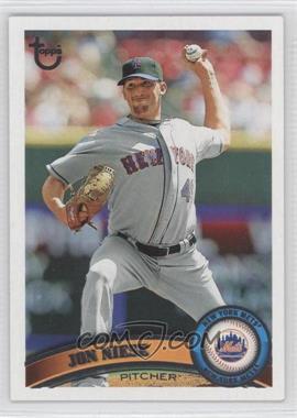 2011 Topps Target [Base] Throwback #147 - Jon Niese