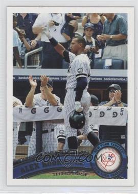 2011 Topps Target [Base] Throwback #155 - Alex Rodriguez