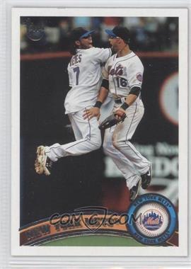 2011 Topps Target [Base] Throwback #157 - New York Mets Team
