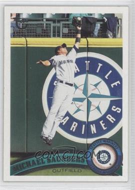 2011 Topps Target [Base] Throwback #252 - Michael Saunders
