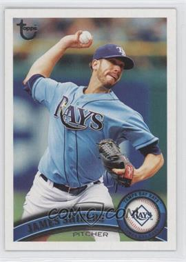 2011 Topps Target [Base] Throwback #311 - James Shields