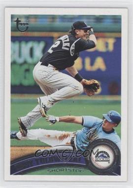 2011 Topps Target [Base] Throwback #400 - Troy Tulowitzki