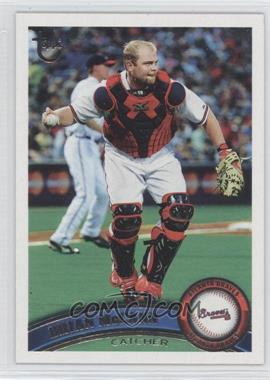 2011 Topps Target [Base] Throwback #415 - Brian McCann