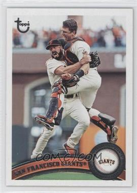 2011 Topps Target [Base] Throwback #552 - San Francisco Giants Team