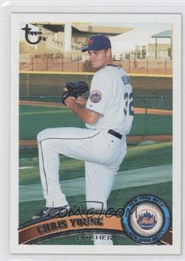 2011 Topps Target [Base] Throwback #580 - Chris Young