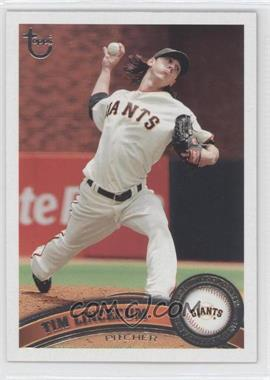 2011 Topps Target [Base] Throwback #590 - Tim Lincecum