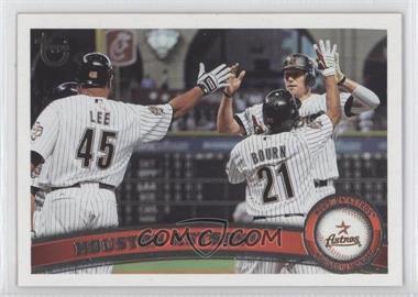 2011 Topps Target [Base] Throwback #631 - Houston Astros Team