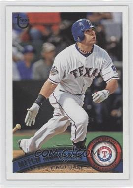 2011 Topps Target [Base] Throwback #634 - Mitch Moreland
