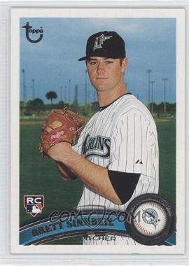 2011 Topps Target Throwback #117 - Brett Sinkbeil