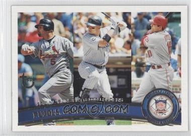 2011 Topps Target Throwback #138 - Albert Pujols, Carlos Gonzalez, Joey Votto