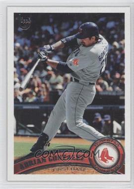 2011 Topps Target Throwback #425 - Adrian Gonzalez