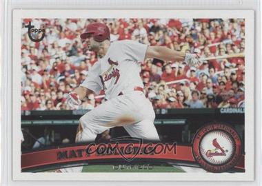 2011 Topps Target Throwback #490 - Matt Holliday