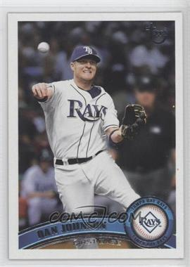 2011 Topps Target Throwback #585 - Dan Johnson