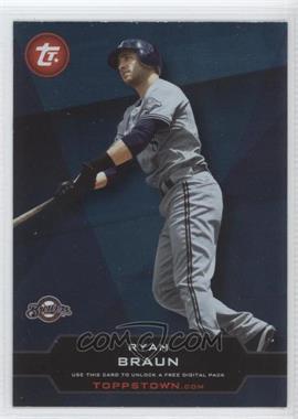2011 Topps Ticket to Toppstown.com #TT-30 - Ryan Braun
