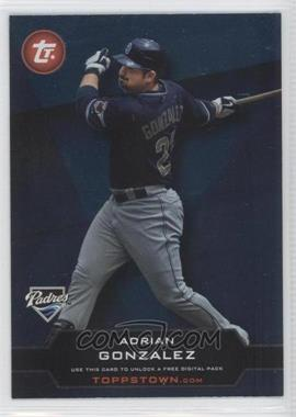 2011 Topps Ticket to Toppstown.com #TT-39 - Adrian Gonzalez