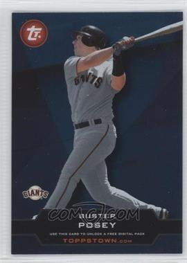 2011 Topps Ticket to Toppstown.com #TT-40 - Buster Posey