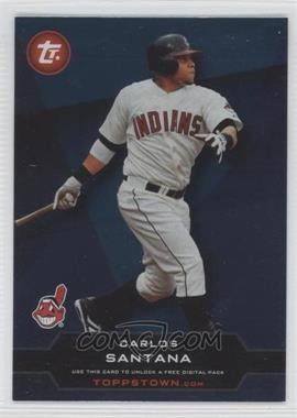 2011 Topps Ticket to Toppstown.com #TT-41 - Carlos Santana