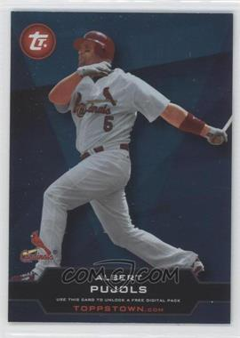 2011 Topps Ticket to Toppstown.com #TT-50 - Albert Pujols