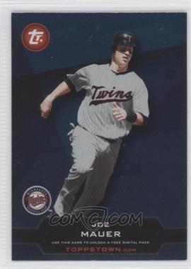 2011 Topps Ticket to Toppstown.com #TT-7 - Joe Mauer