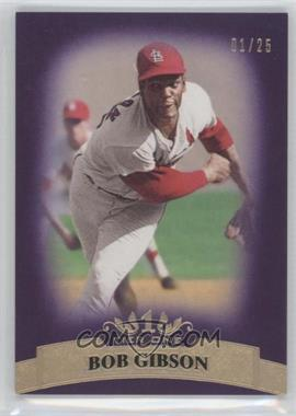 2011 Topps Tier One - [Base] - Purple Tier Two #45 - Bob Gibson /25
