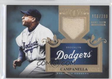 2011 Topps Tier One - Top Shelf Relics - Single Relics #TSR 9 - Roy Campanella /399
