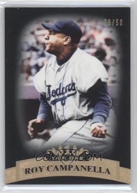 2011 Topps Tier One Black Tier Three #39 - Roy Campanella /50