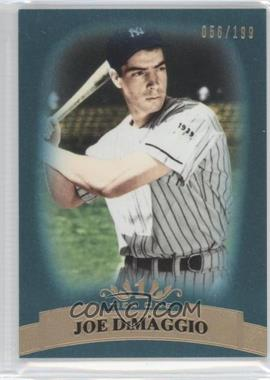 2011 Topps Tier One Blue Tier Four #1 - Joe DiMaggio /199