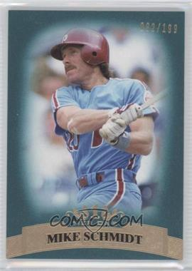 2011 Topps Tier One Blue Tier Four #95 - Mike Schmidt /199