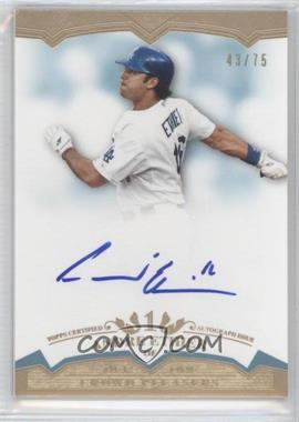 2011 Topps Tier One Crowd Pleaser Autographs [Autographed] #CP- AE - Andre Ethier /75