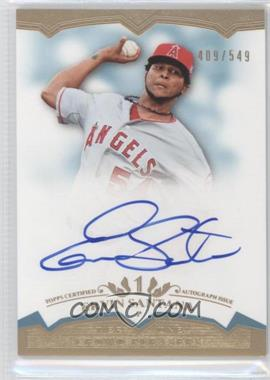 2011 Topps Tier One Crowd Pleaser Autographs [Autographed] #CP- ES - Ervin Santana /549