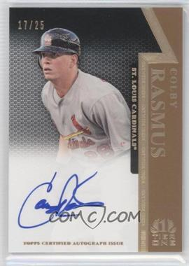 2011 Topps Tier One On the Rise Autograph Gold [Autographed] #OR-CR - Colby Rasmus /25