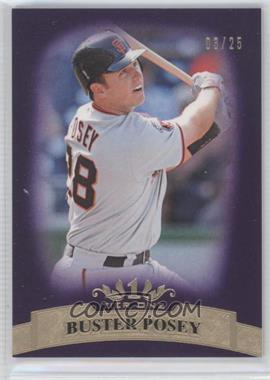 2011 Topps Tier One Purple Tier Two #38 - Buster Posey /25